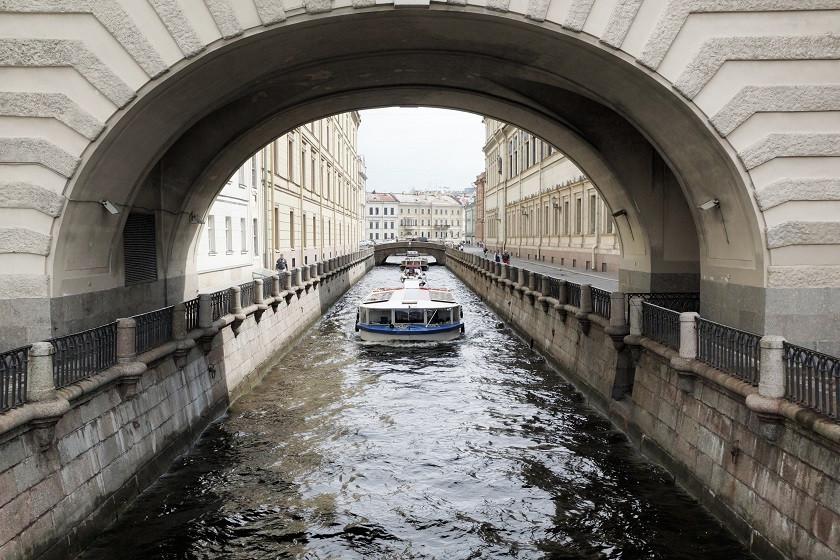 Kanal in Sankt Petersburg