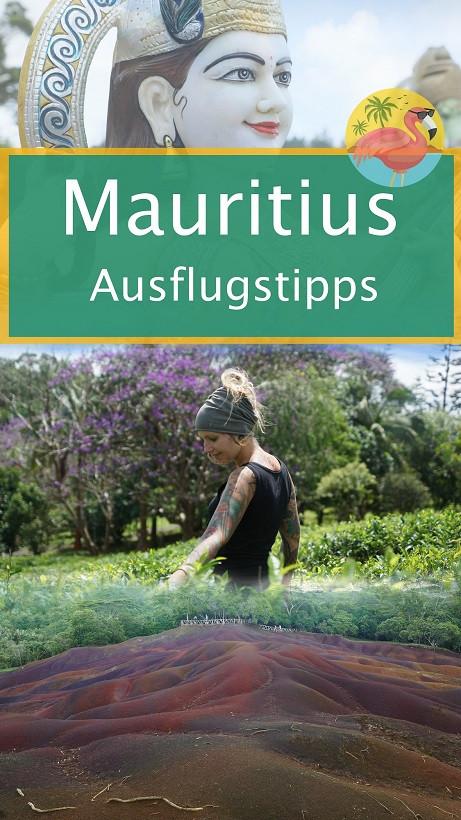 Mauritius Ausflugstipps Pin