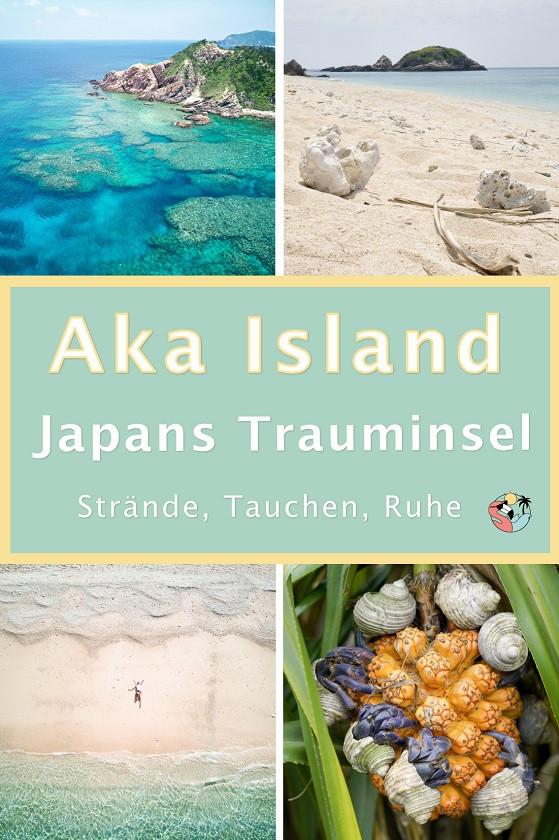 Aka Island Japans Trauminsel Pin