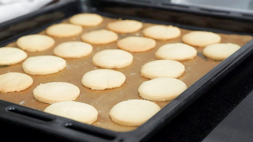Napolitaner Kekse ohne Farbe backen
