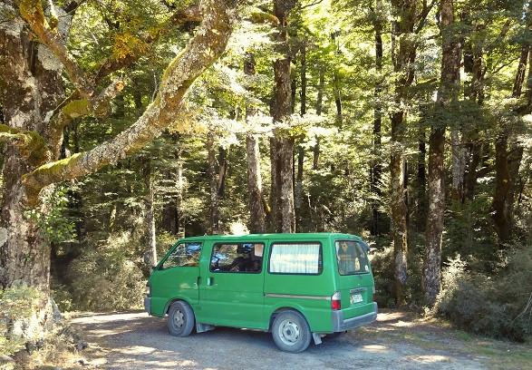 D.O.C. Campingplatz beim Arthurs Pass