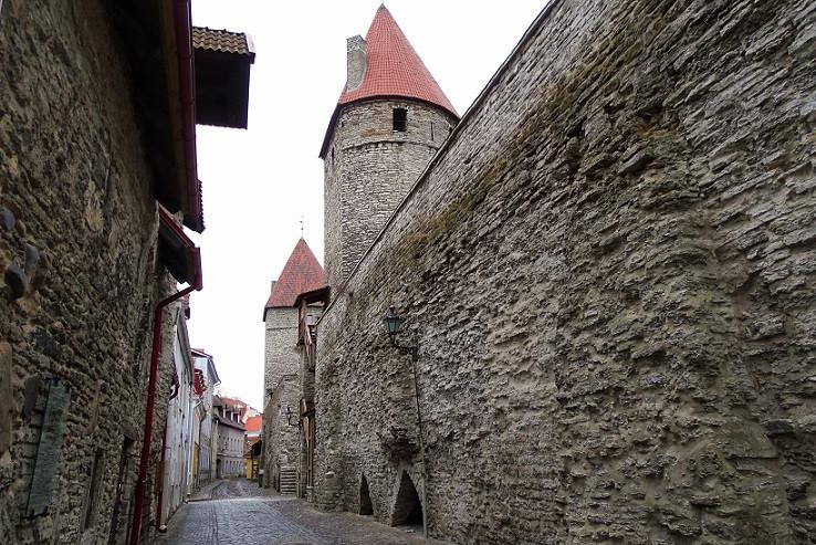 Stadtmauern - Tallinn