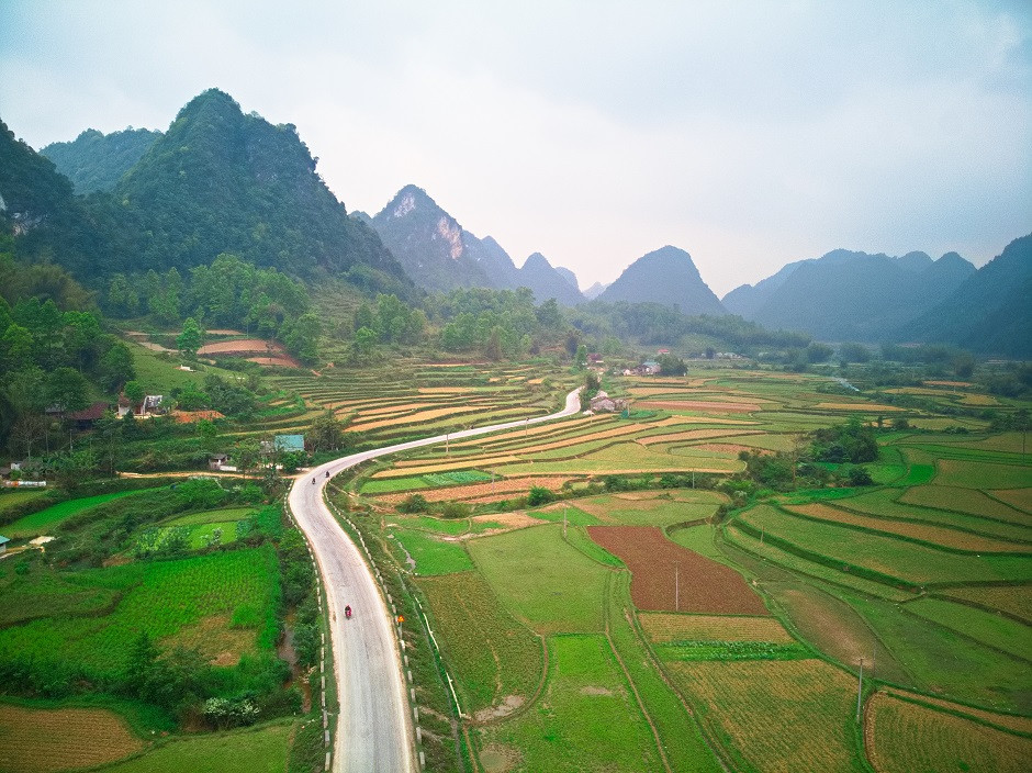 Cao Bang Region in Vietnam