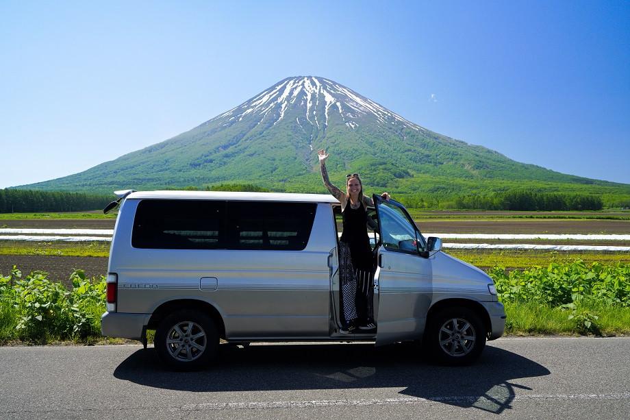 Mit dem Camper durch Hokkaido