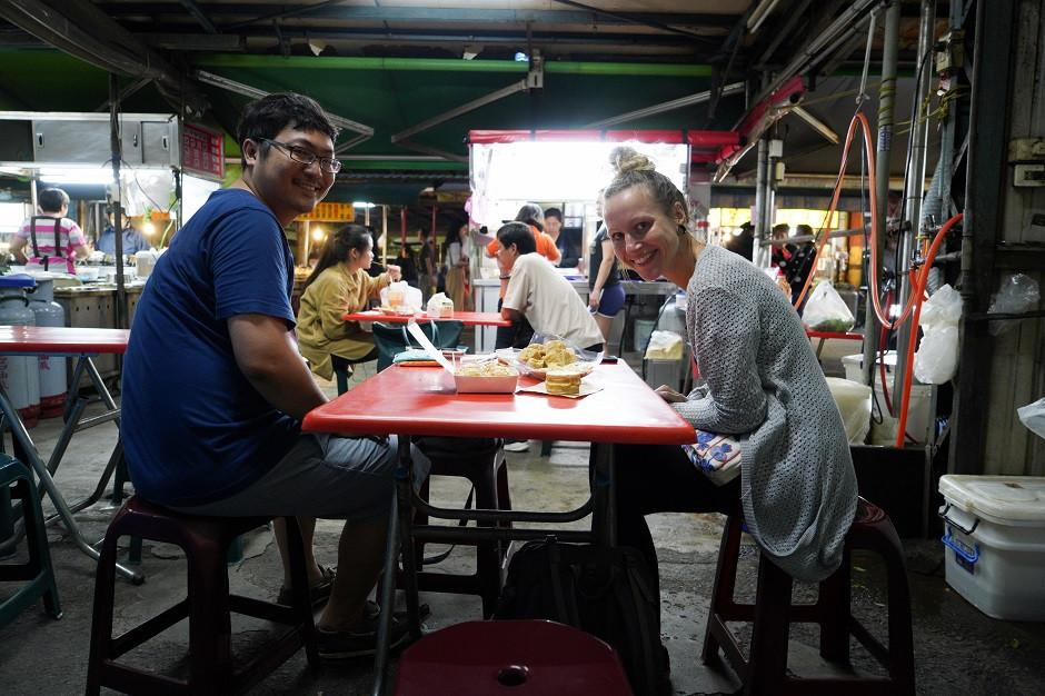 Streetfood schlemmen in Taiwan