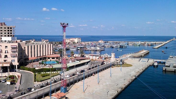 Hafen in Port Said