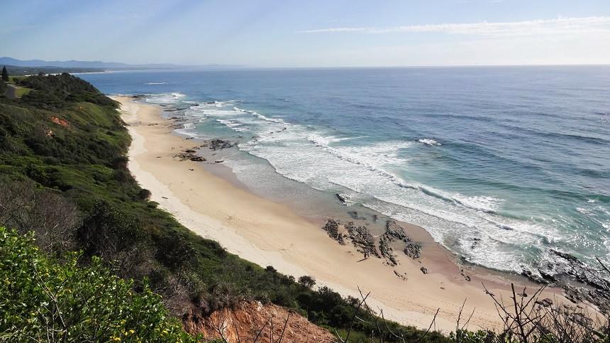 Strandabschnitt in Australien