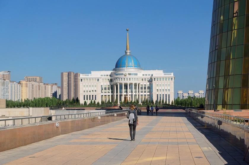 Ak-Orda-Palast (Präsidentenpalast) in Astana