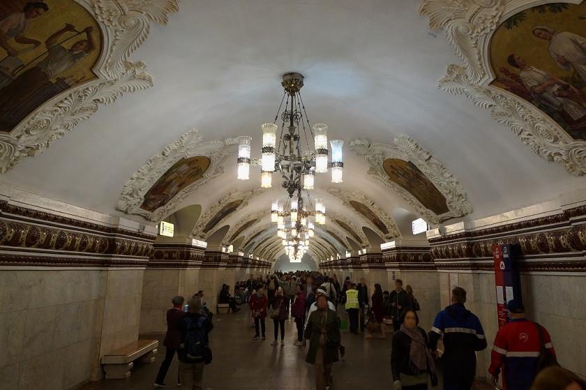 Kievskaja Metro Station - Moskau