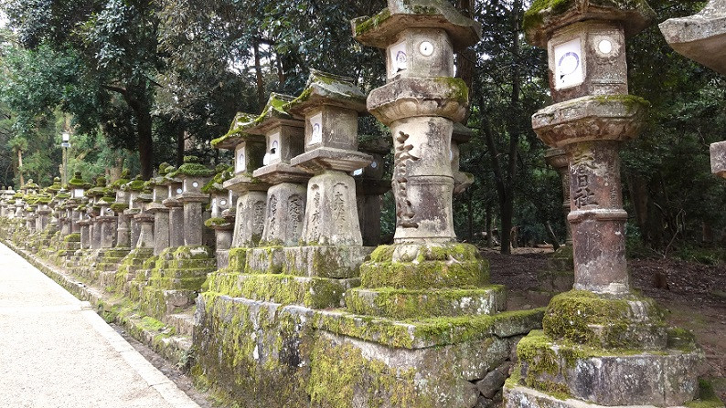 Steinlaternen (Toro) - Nara