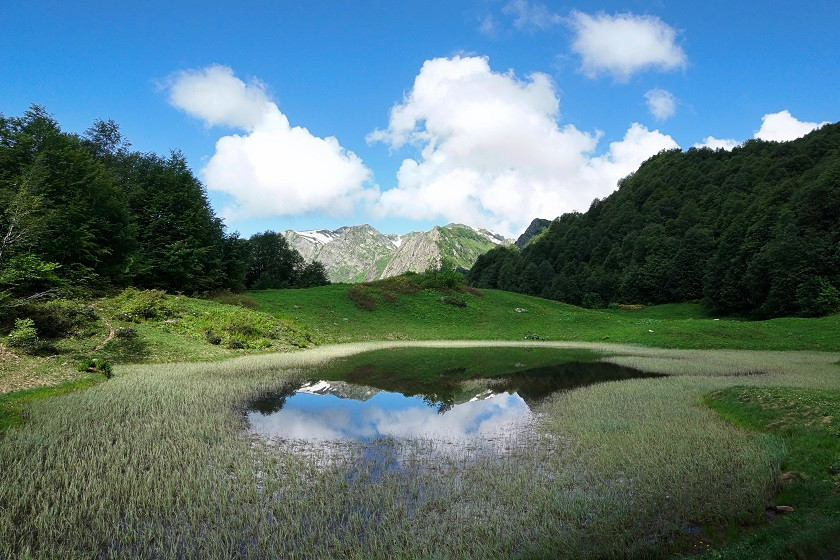 Spiegelsee im Sotschi Nationalpark