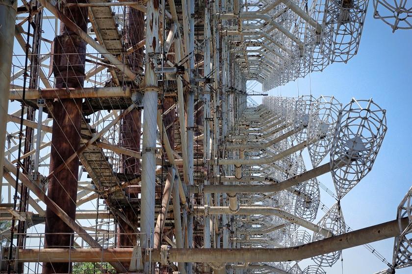 Radarkonstrukt Radar-Duga 2 - Tschernobyl
