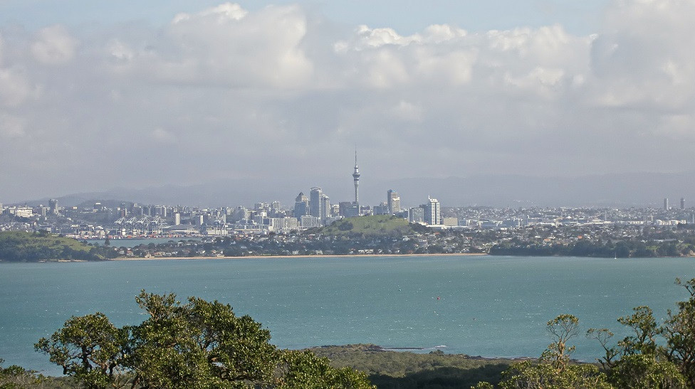 Rangitoto Blick auf Auckland