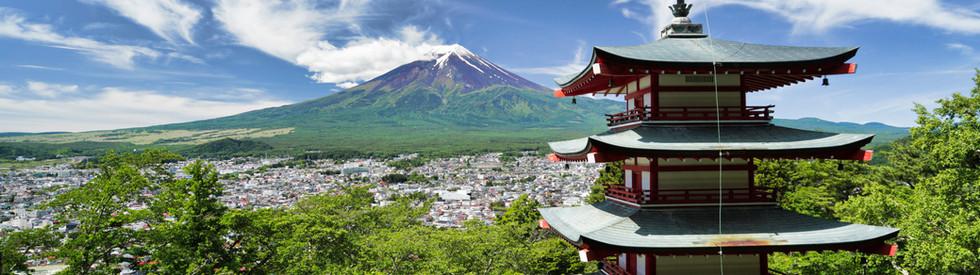 Japan Reiseinfo Blick auf den Fuji