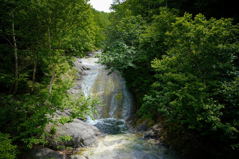 Kamuiwakka Wasserfall im Shiretoko Nationalpark