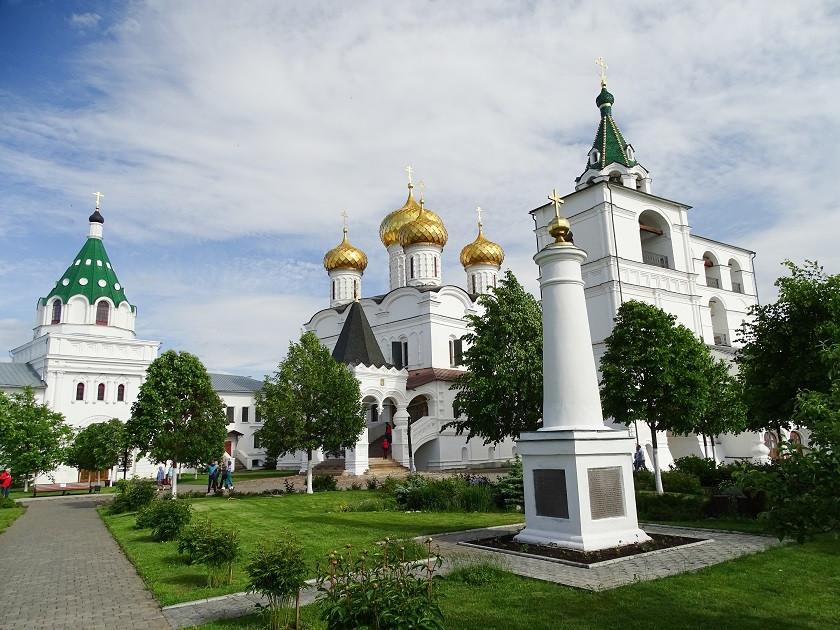 Dreifaltigkeits-Kathedrale in Kostroma - Goldener Ring