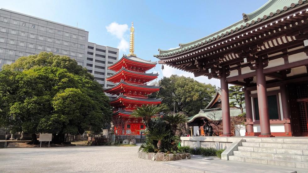 Tocho-ji Tempel Fukuoka