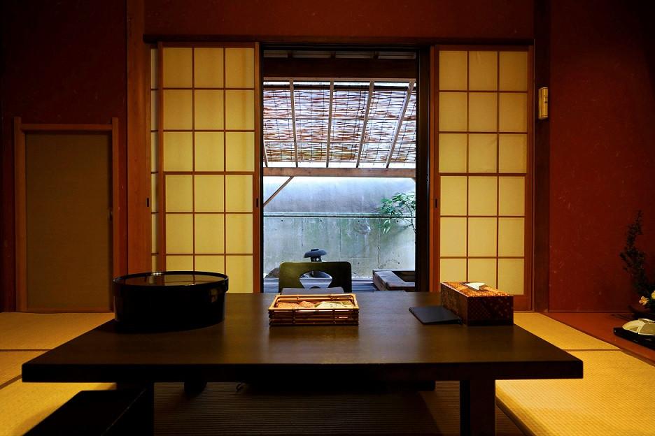 Zimmer im Ryokan