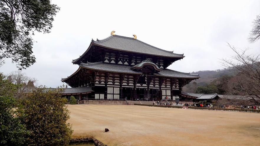Todai-ji Tempel - Nara