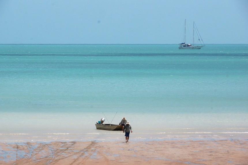 Roebuck Bay in Broome