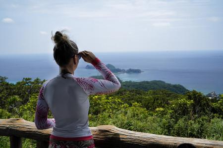 Ausblick auf umliegende Inseln