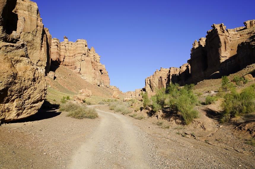 Im Charyn Canyon - Kasachstan