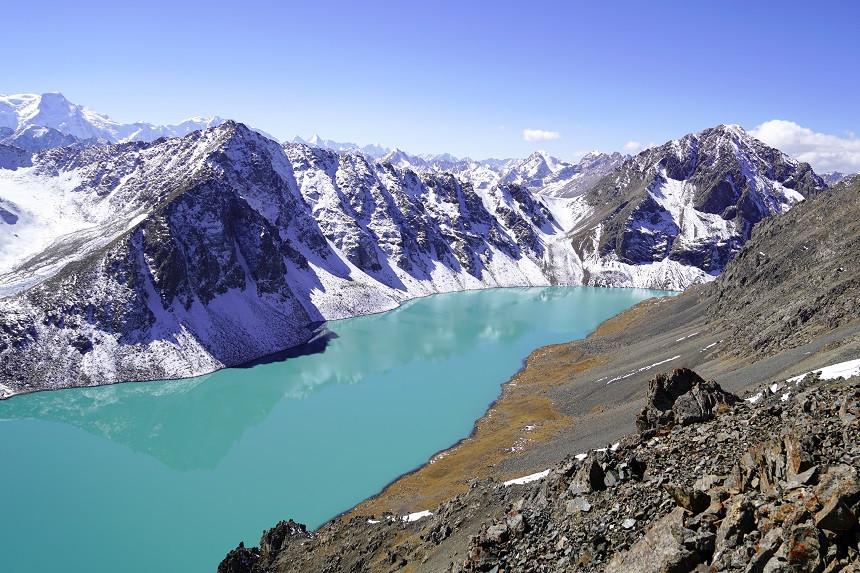 Ala Kul See in Kirgisistan