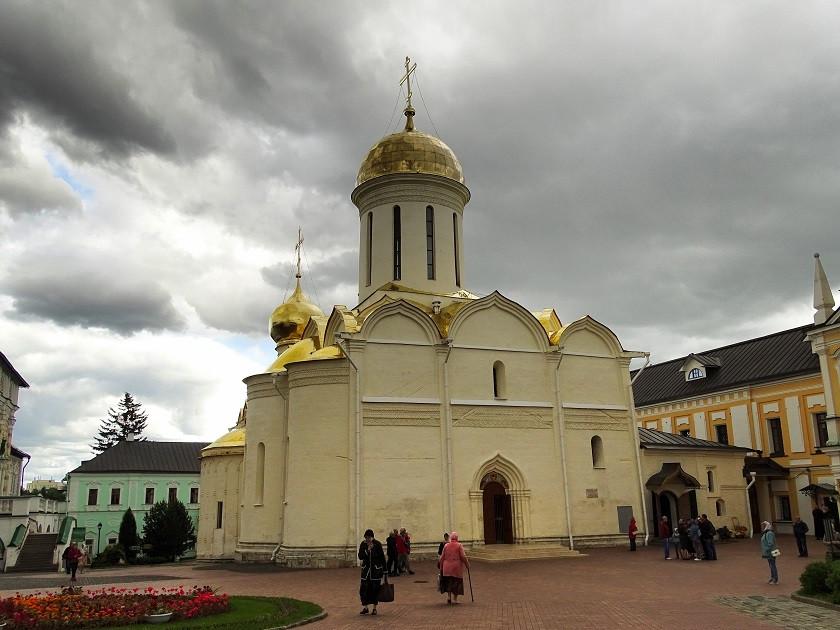 Mariä -Entschlafens-Kathedrale - Sergej Possad - Goldener Ring