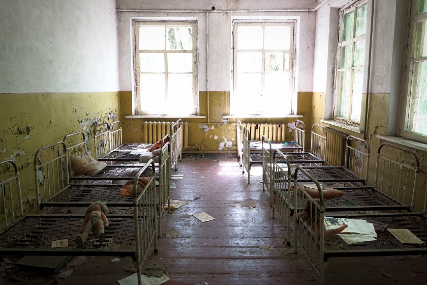 Kindergarten in Kopachi - Tschernobyl