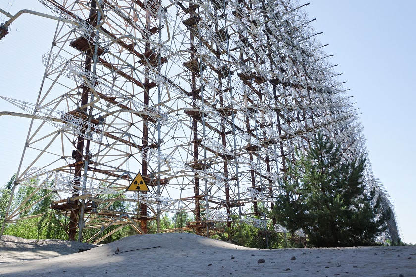 Radaranlage Tschernobyl 2 - Tschernobyl