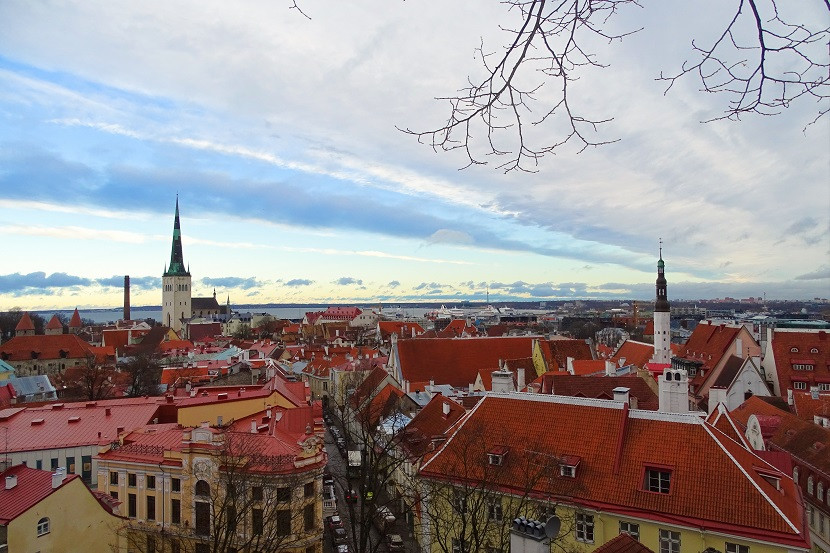 Tallin Altstadt Estland