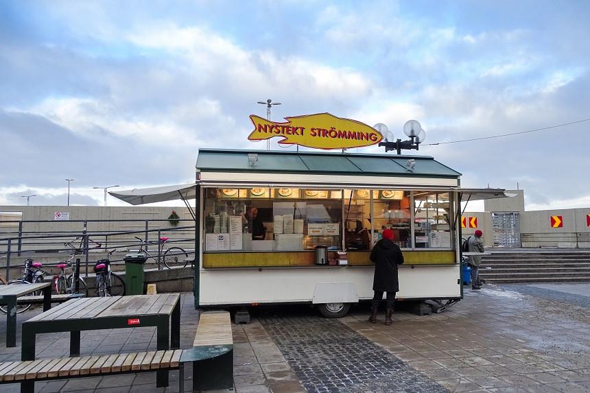 Nystekt Strömming - Gamla Stan - Stockholm