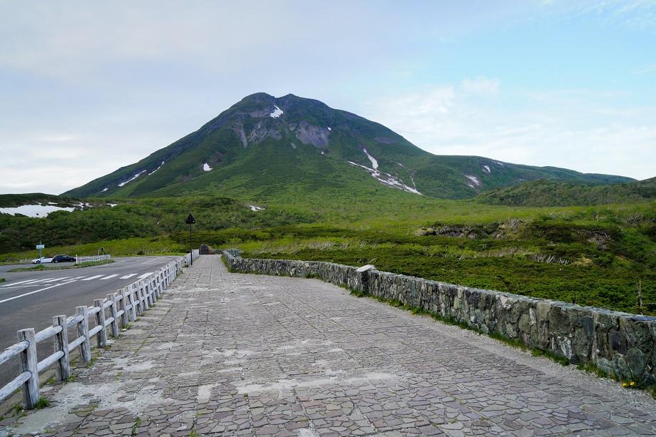 Aussichtspunkt am Shiretoko Pass