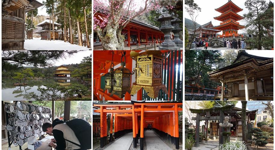 Tempel, Schreine und Pagoden in Japan