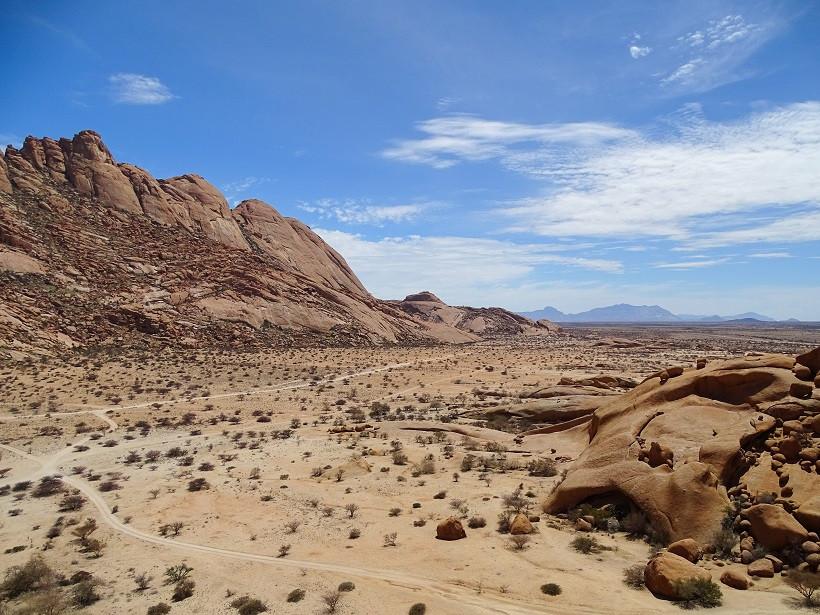 Marslandschaft an der Spitzkoppe - Namibia