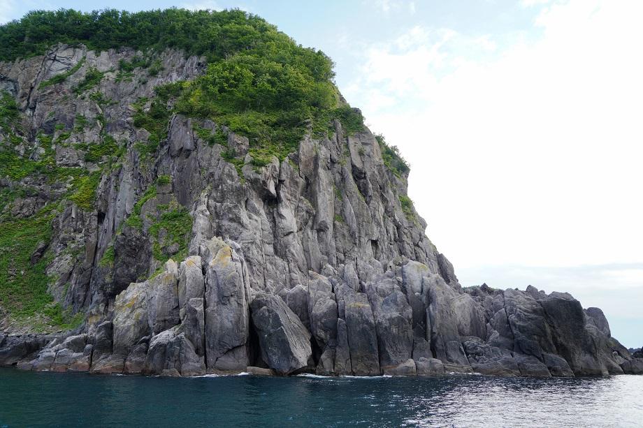 Steinküste im Shiretoko Nationalpark