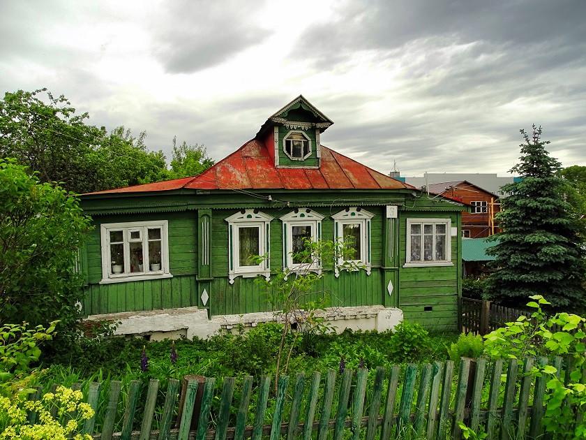 Traditionelle russische Häuser - Goldener Ring
