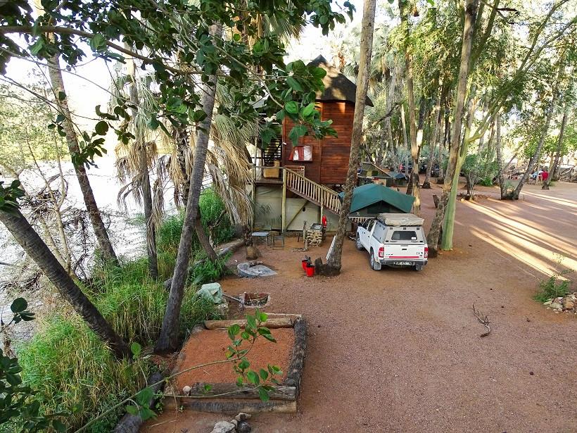 Epupa Falls Lodge & Campsites - Stellplatz Nacht 2+3