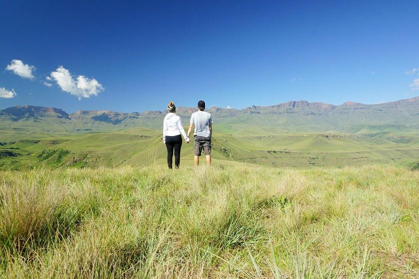 Giant's Castle Nature Reserve - Südafrika