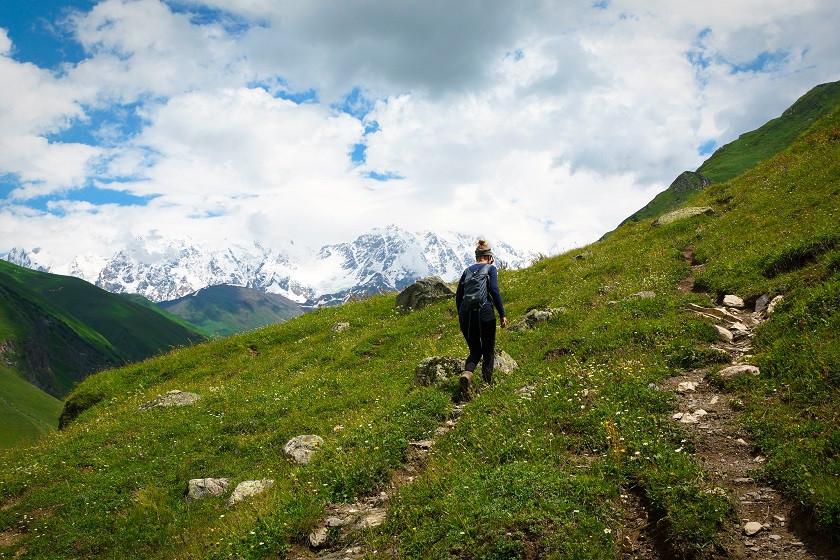 Wandern in Uschguli - Swanetien
