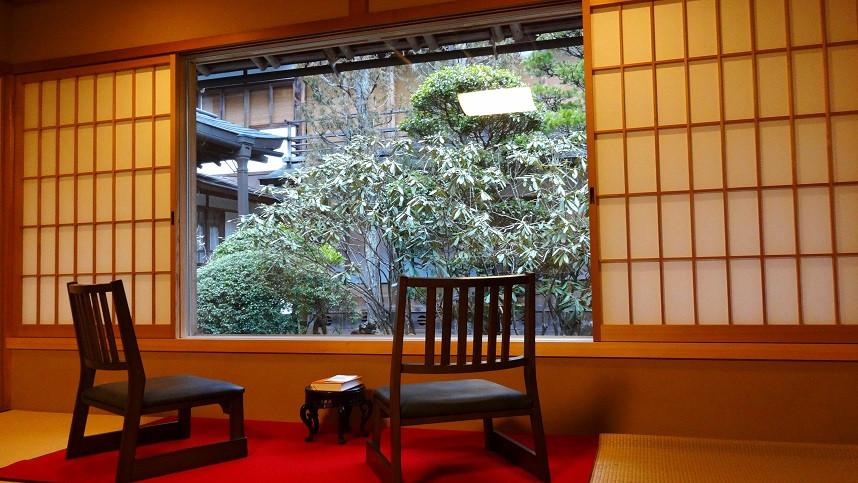 Zimmer im Ichijoin Tempel - Koya-San