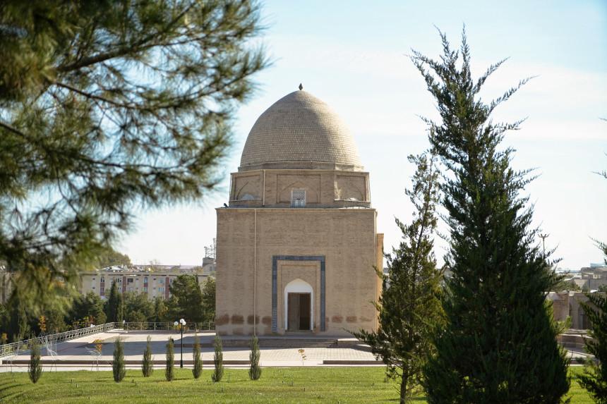 Ruhabad Mausoleum in Samarkand