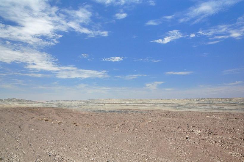 Mondlandschaft an der Skeleton Coast - Namibia