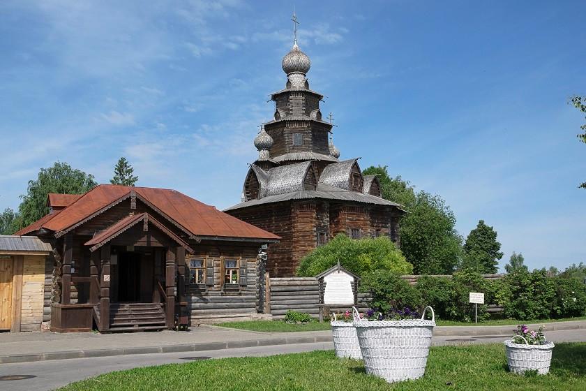 Holz-Freilichtmuseum Susdal - Goldener Ring