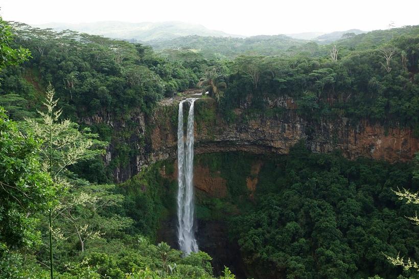 Wasserfall - Chamarel