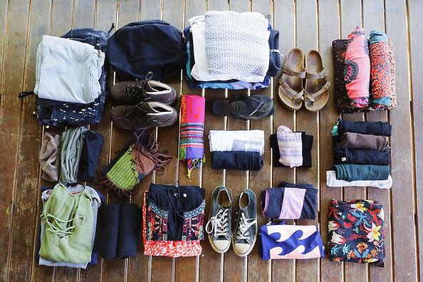 Kati Packliste - Klamotten