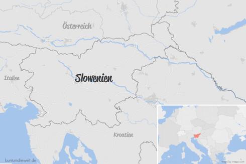 Slowenien Landkarte Map.jpg