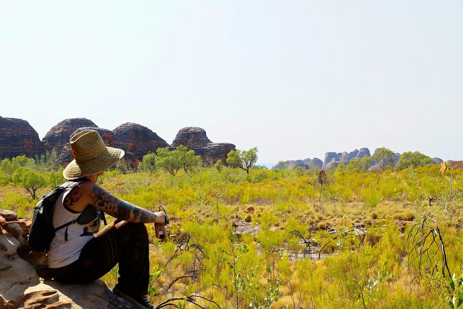 Ein letzter Blick auf die Domes - Purnululu Nationalpark