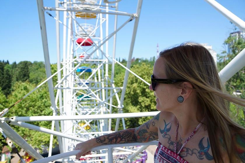 Riesenrad im Park Riviera - Sotschi