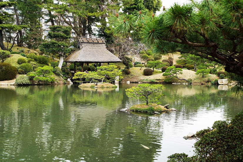 Shukkei-en Park - Hiroshima